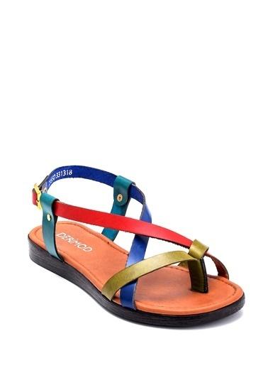 Derimod Kadın Sandalet (106) Casual Renkli